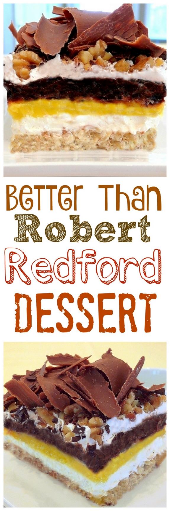 Better than Robert Redford Dessert