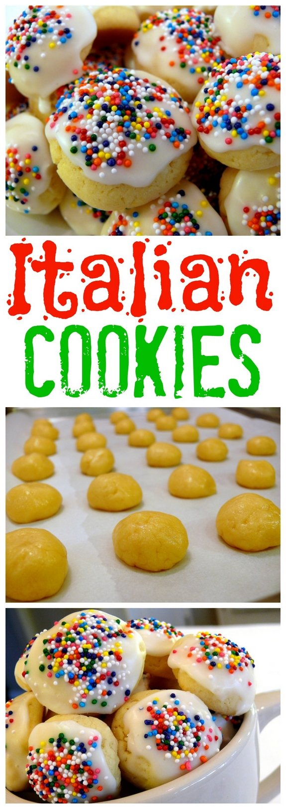 Italian Cookies from NoblePig.com