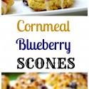 Cornmeal-Blueberry Scones