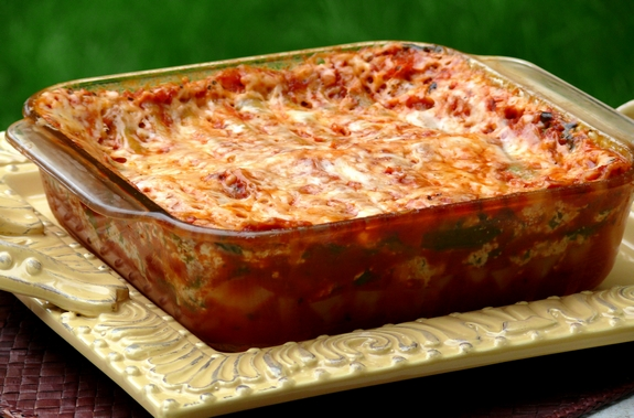 Homemade Microwave Lasagna Noble Pig