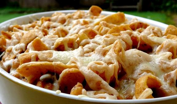 Pressure Cooker White Bean Chili Frito Pie Recipes — Dishmaps