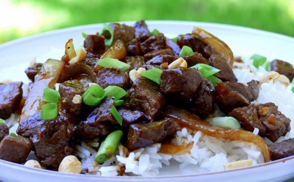 Vietnamese-Style Beef with Garlic, Black Pepper and Lime