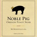 Noble-Pig-2009-Pinot-Noir-label
