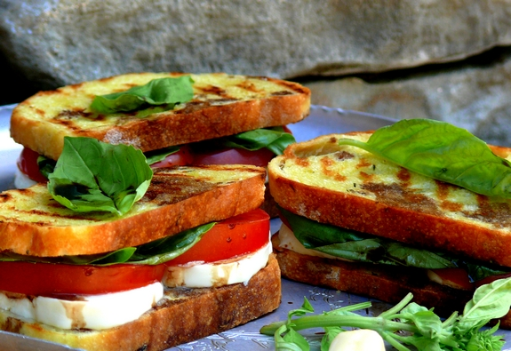 Image result for CAPRESE SANDWICH