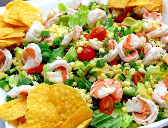 ... margaritas, a couple of these salads….I'm in…who wants to go