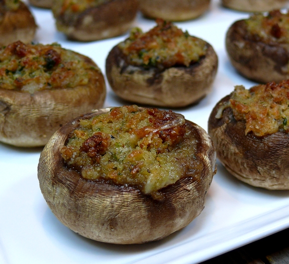 Italian Stuffed Mushrooms1