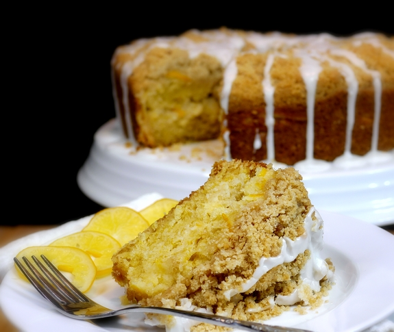 Meyer Lemon Coffee Cake | Noble Pig