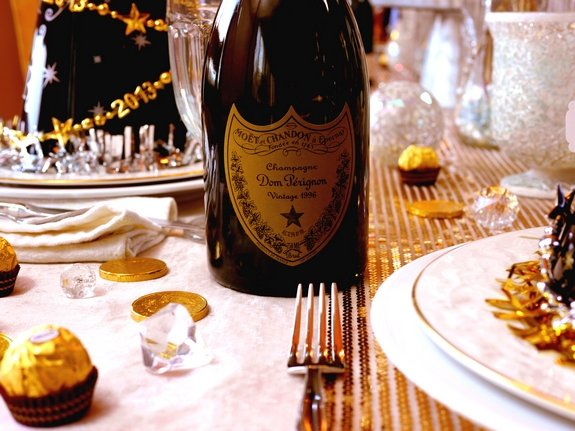 New Years Eve Table Setting Noble Pig Blog 2013 Dom