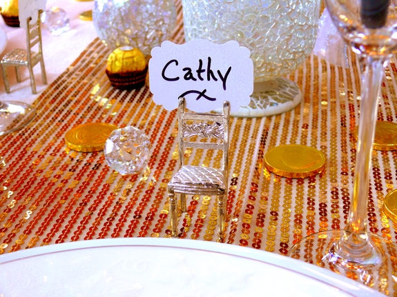 New Years Eve Table Setting Noble Pig Blog 2013 Place setting