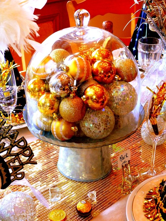 New Years Eve Table Setting Noble Pig Blog 2013 cloche