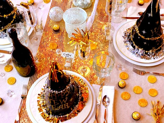 New Years Eve Table Setting Noble Pig Blog 2013 top