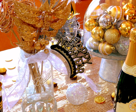 New Years Eve Table Setting Noble Pig Blog 2013 vasejpg