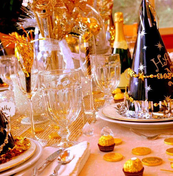 New year s eve table setting for Table 52 new years eve