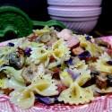 Skillet-Bowtie-Bacon-Cabbage-Leftover-Ham-Pasta-Dish2