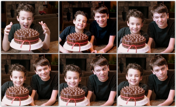 Best Yellow Birthday Cake with Chocolate Icing boys