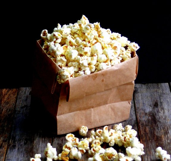 Dill Pickle Popcorn Bag
