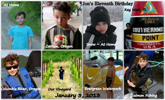 Jons Eleventh Birthday