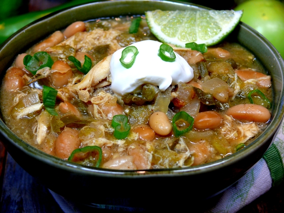 Slow Cooker Green Chicken Chile 1 1