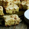 Buttermilk-Walnut Snack Cake with Praline Frosting