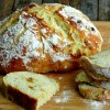 Easy Artisan Roasted Garlic-Rosemary Bread