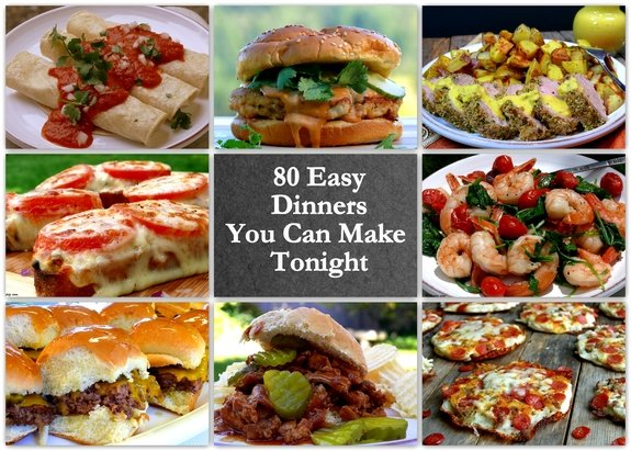 80 easy dinners you can make tonight 80 easy dinners you can make tonightg forumfinder Image collections