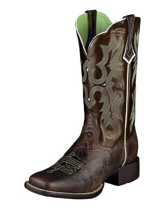 Ariat Womens Tombstone Boot Chocolate Chip Brown