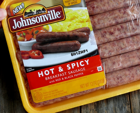Loaded Sausage and Gravy Baked Potatoes Johnsonville Sausage