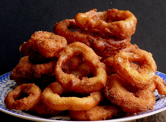 Onion Rings With Pancake Mix And Beer