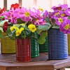 Easy DIY Flower Pot Centerpieces