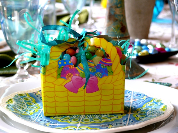 Easter Table Jellybean Box