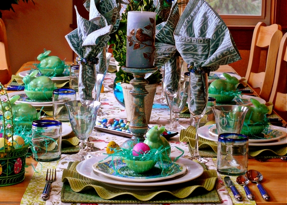Easter Table Setting for eight