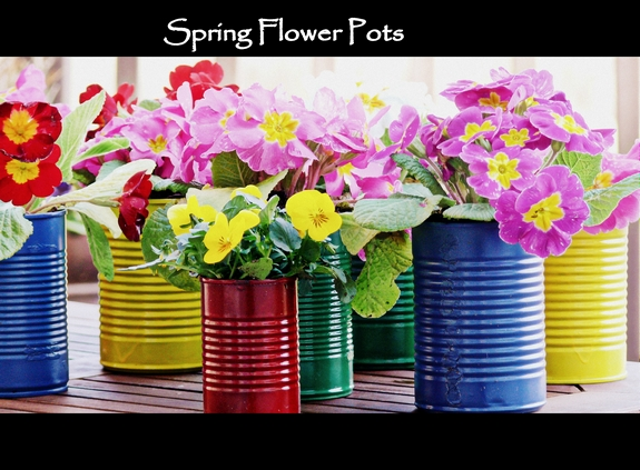 Easy DIY Flower Pot Centerpieces perfect for Spring