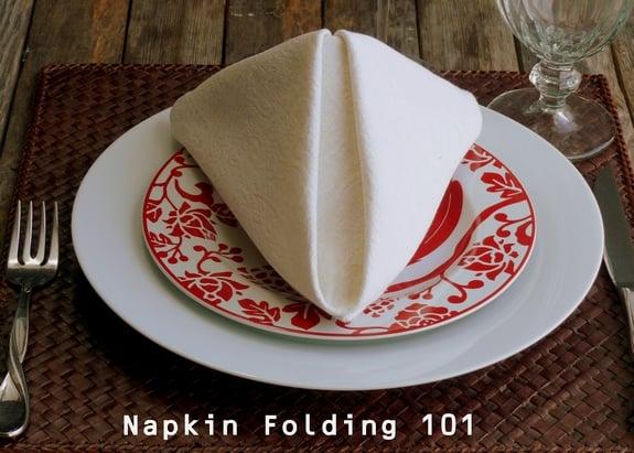 Fancy Paper Napkin Folding Ideas Fancy Napkin Folding The