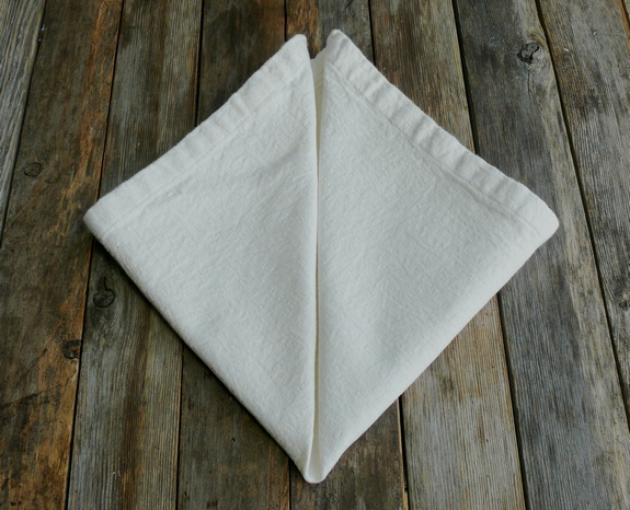 Napkin Folding 5th Step