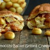 Gnocchi-Bacon Grilled Cheese Sandwich