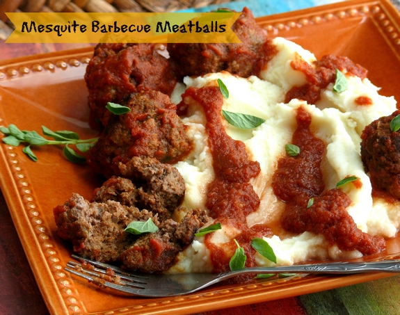 Mesquite Barbecue Meatballs