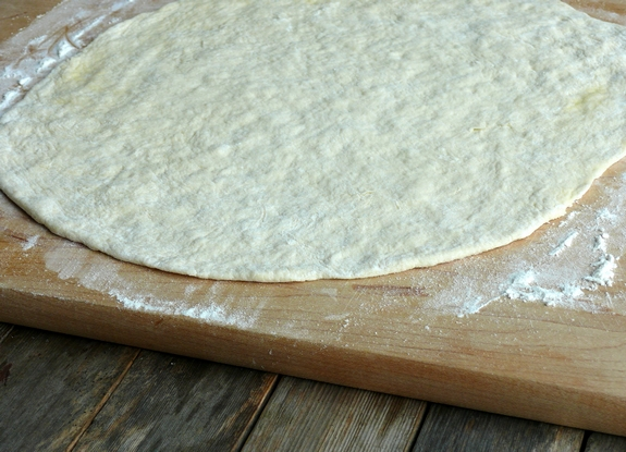 Quick No Fail Pizza Dough crust