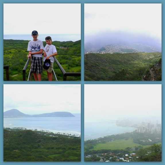 Visiting Diamond Head National Park views