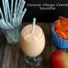 Coconut-Mango-Carrot Smoothie