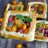 Puff Pastry Tomato Tarts