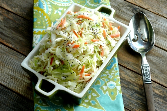Tarragon Coleslaw perfect side dish