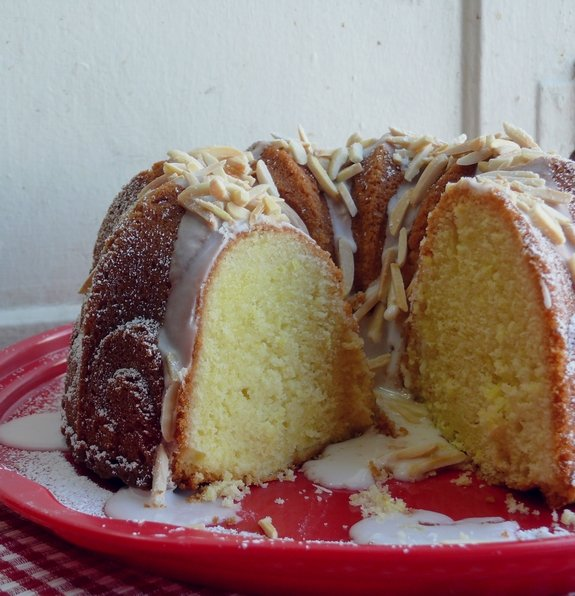 Limoncello Syrup Bundt Cake deliciously moist