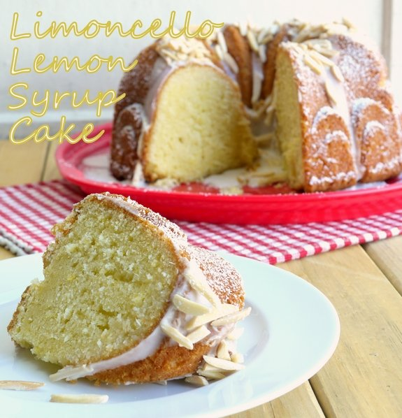 Limoncello Syrup Bundt Cake the perfect after dinner indulgence