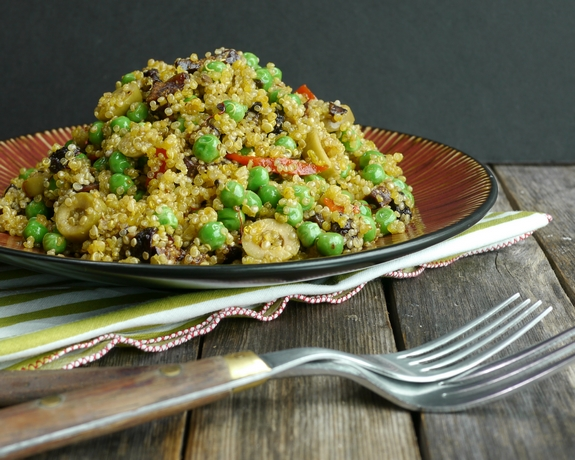 Spanish Style Quinoa the perfect addition to any meal
