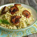 Almost-Sauceless-Creamy-Corn-Fettucine-with-Blackened-Shrimp-a-delicious-meal1