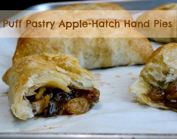 Puff Pastry Apple Hatch Hand Pies using an unbelievable ingredient