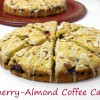 Fresh Cherry-Almond Coffee Cake