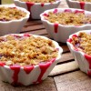Fresh Cherry-Berry Crumble