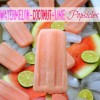 Watermelon-Coconut-Lime Popsicles