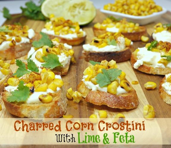 how to make charred lime crema